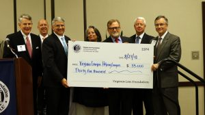 Thank You Virginia Law Foundation!