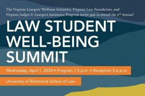 Law Student Well-Being Conference – POSTPONED