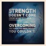 Wisdom on the Strength of Recovery