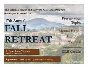 Registration is Open for VJLAP's 2021 Retreat