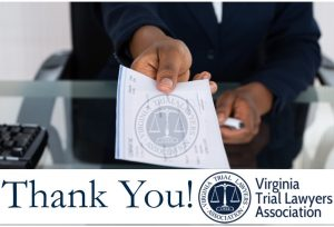 VTLA's Donation is Our Largest Voluntary Contribution