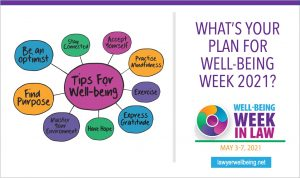 Well-Being Week in Law: May 3-7, 2021
